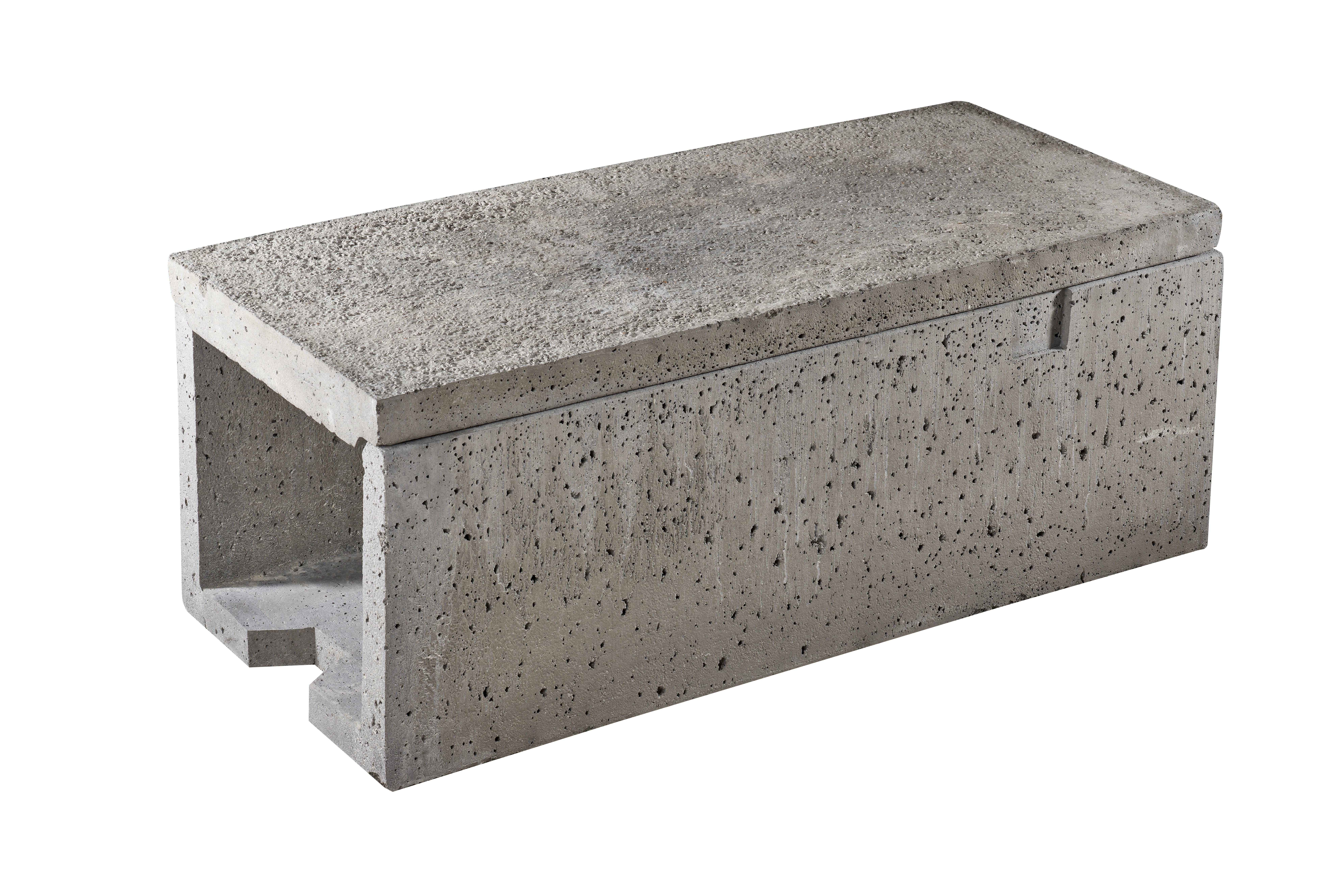 Anderlite Concrete 500mm Trough & Lid