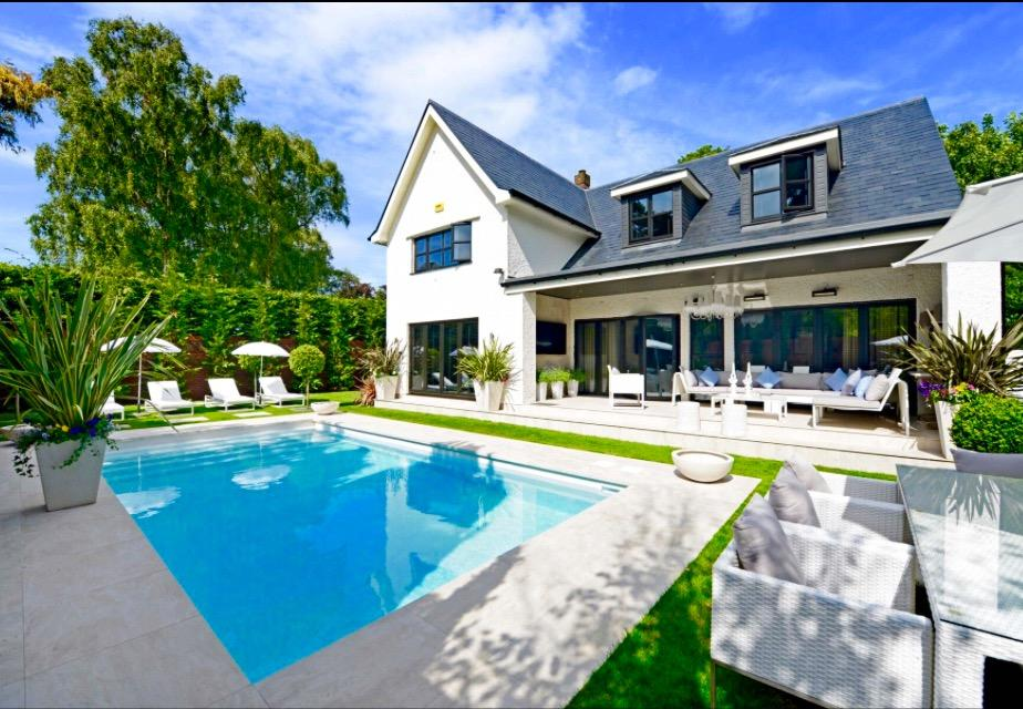 White Villa with Swimming Pool